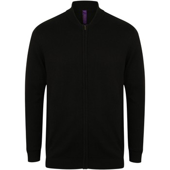 Textiel Vesten / Cardigans Henbury HB718 Zwart