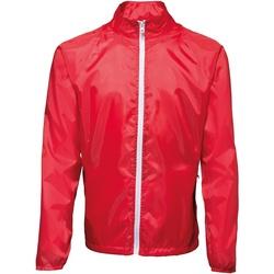 Textiel Heren Windjack 2786 TS011 Rood/wit