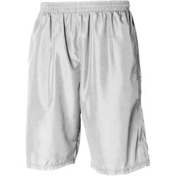 Textiel Heren Korte broeken / Bermuda's Tombo Teamsport Longline Wit / Wit
