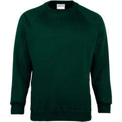 Textiel Kinderen Sweaters / Sweatshirts Maddins MD01B Fles groen