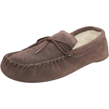 Schoenen Sloffen Eastern Counties Leather  Chocolade