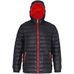 Textiel Heren Dons gevoerde jassen 2786 TS016 Zwart/Rood