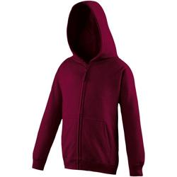 Textiel Kinderen Sweaters / Sweatshirts Awdis JH50J Bourgondië