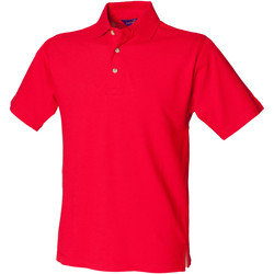 Textiel Heren Polo's korte mouwen Henbury HB100 Klassiek rood