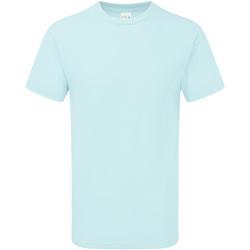 Textiel Heren T-shirts korte mouwen Gildan H000 Chambray