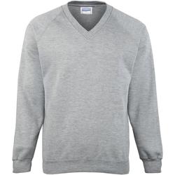 Textiel Kinderen Sweaters / Sweatshirts Maddins MD02B Oxford Grijs