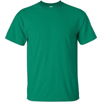 Textiel Heren T-shirts korte mouwen Gildan Ultra Kelly