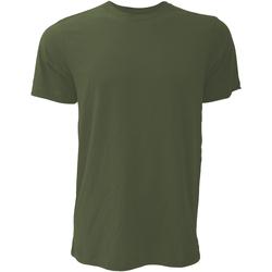 Textiel Heren T-shirts korte mouwen Bella + Canvas CA3001 Heather Olive