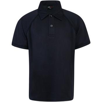 Textiel Kinderen Polo's korte mouwen Finden & Hales LV372 Marine/Navy
