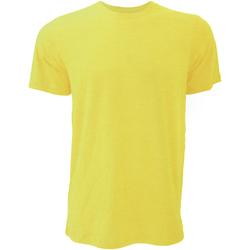 Textiel Heren T-shirts korte mouwen Bella + Canvas CA3001 Heather Geel Goud