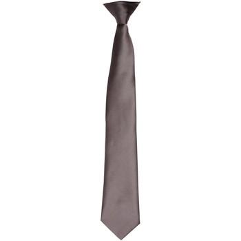 Textiel Heren Stropdassen en accessoires Premier PR755 Donkergrijs