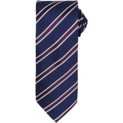 Textiel Heren Stropdassen en accessoires Premier  Marine/Aubergine