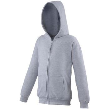Textiel Kinderen Sweaters / Sweatshirts Awdis JH50J Heide Grijs