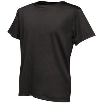 Textiel Kinderen T-shirts korte mouwen Regatta RA011B Zwart