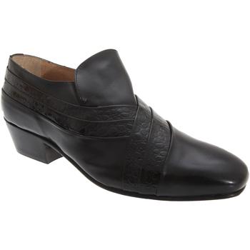Schoenen Heren Mocassins Montecatini  Zwart