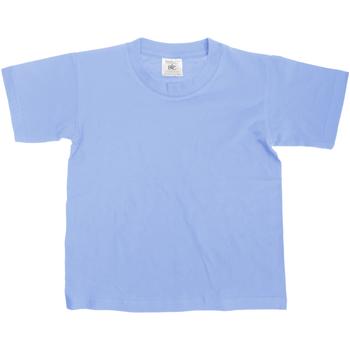 Textiel Kinderen T-shirts korte mouwen B And C Exact Denim