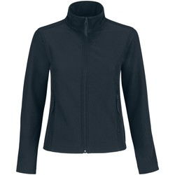 Textiel Dames Fleece B And C JWI63 Marine / Neon Groen