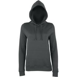 Textiel Dames Sweaters / Sweatshirts Awdis Girlie Houtskool