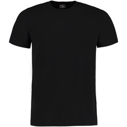Textiel Heren T-shirts korte mouwen Kustom Kit KK504 Zwart gemêleerd