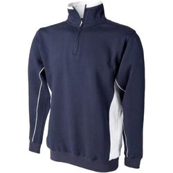 Textiel Heren Sweaters / Sweatshirts Finden & Hales LV338 Marine / Wit