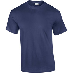 Textiel Heren T-shirts korte mouwen Gildan Ultra Metro Blauw