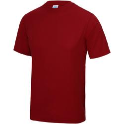 Textiel Kinderen T-shirts korte mouwen Awdis JC01J Vuurrood