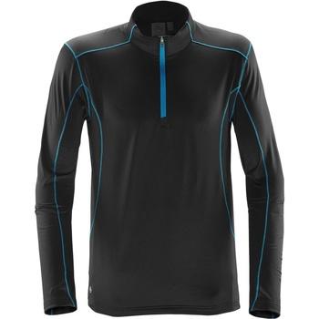 Textiel Heren Truien Stormtech Pulse Zwart/Elektrisch Blauw