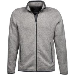 Textiel Heren Vesten / Cardigans Tee Jays TJ9615 Grijze Melange