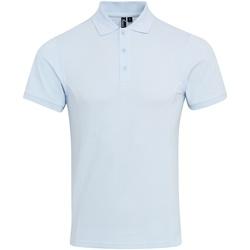 Textiel Heren Polo's korte mouwen Premier PR630 Lichtblauw