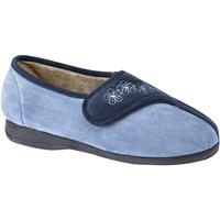 Schoenen Dames Sloffen Sleepers  Marine / Blauw