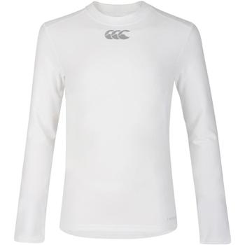 Textiel Kinderen T-shirts met lange mouwen Canterbury CN360B Wit