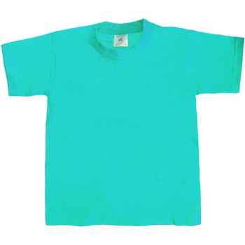 Textiel Kinderen T-shirts korte mouwen B And C TK301 Zwembad