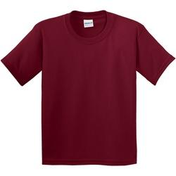 Textiel Kinderen T-shirts korte mouwen Gildan 5000B Kardinaal