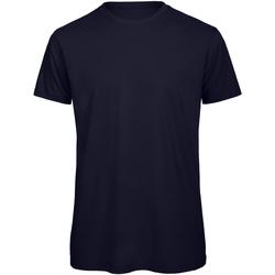 Textiel Heren T-shirts korte mouwen B And C TM042 Marineblauw
