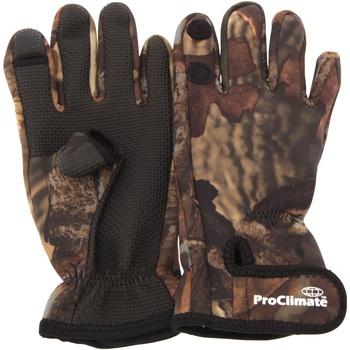 Accessoires Heren Handschoenen Floso  Camouflage