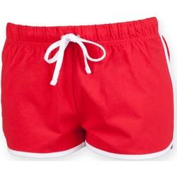 Textiel Kinderen Korte broeken / Bermuda's Skinni Fit SM069 Rood / Wit