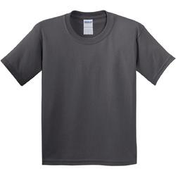 Textiel Kinderen T-shirts korte mouwen Gildan 5000B Houtskool