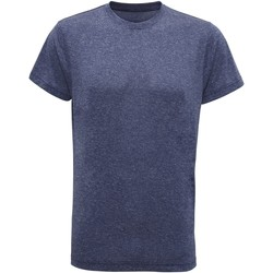 Textiel Heren T-shirts korte mouwen Tridri TR010 Blauw gemêleerd