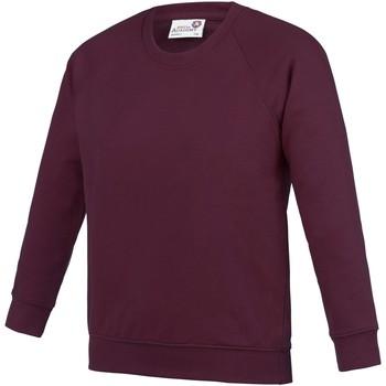 Textiel Kinderen Sweaters / Sweatshirts Awdis  Bourgondië