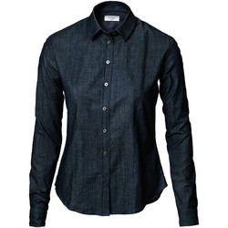Textiel Dames Overhemden Nimbus NB65 Indigoblauw