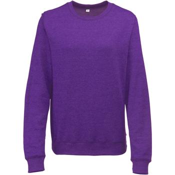 Textiel Dames Sweaters / Sweatshirts Awdis JH045 Paarse heide