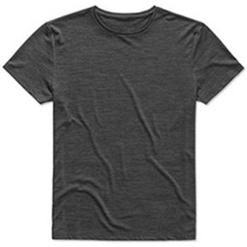 Textiel Heren T-shirts korte mouwen Stedman  Zwart