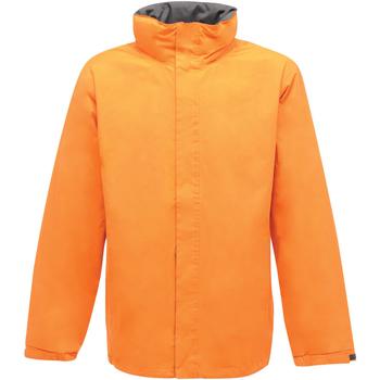Textiel Heren Windjack Regatta Ardmore Zon Oranje/Zonnebrandgrijs
