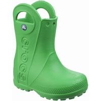 Schoenen Kinderen Regenlaarzen Crocs  Grasgroen