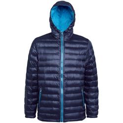 Textiel Heren Dons gevoerde jassen 2786 TS016 Marine/Saffier