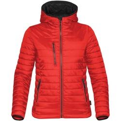 Textiel Dames Dons gevoerde jassen Stormtech ST804 Echt rood/ zwart