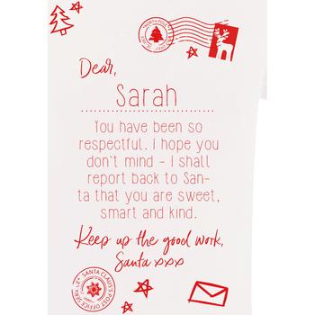 Textiel Kinderen T-shirts korte mouwen Christmas Shop CS145 Wit