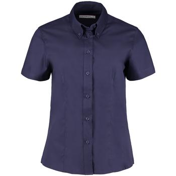 Textiel Dames Overhemden Kustom Kit KK701 Middernacht marine