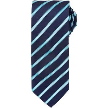 Textiel Heren Stropdassen en accessoires Premier Formal Marine / Turquoise