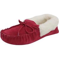 Schoenen Dames Sloffen Eastern Counties Leather  Crimson